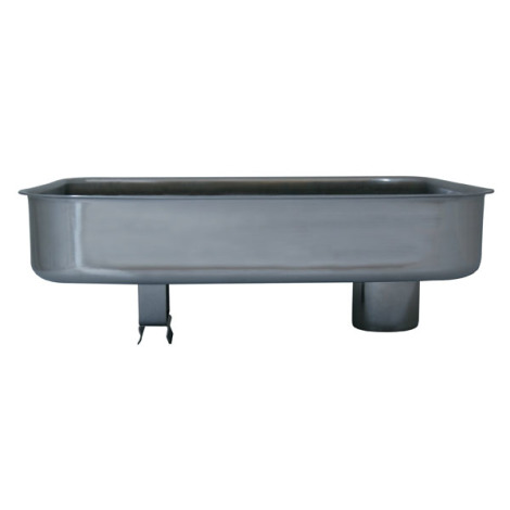 Part - Stainless Steel Meat Pan for # 8 Big Bite Grinder # 779