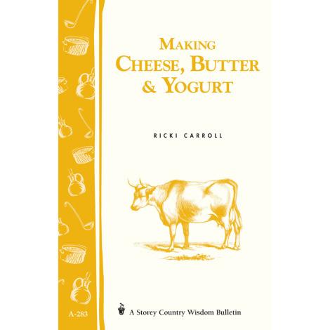 Making Cheese, Butter & Yogurt Book