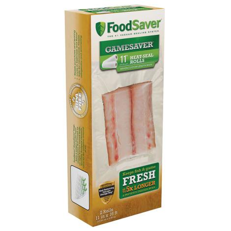 "FoodSaver GameSaver 11"" Heat-Seal Rolls - 2 Rolls"