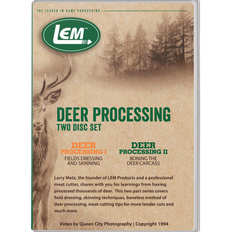 Deer Processing Set I & II DVD