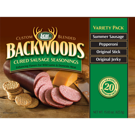 Backwoods Cured Sausage Seasoning Variety Pack