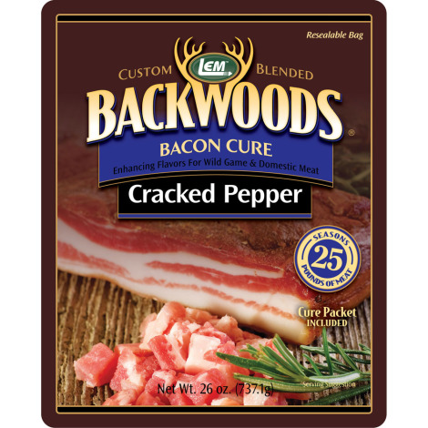 Backwoods Cracked Pepper Bacon Cure