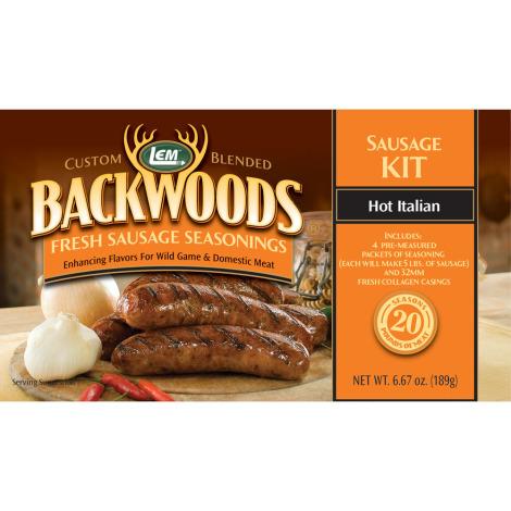 Backwoods Hot Italian Fresh Sausage Kit