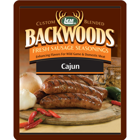 Backwoods Cajun Fresh Sausage Seasoning