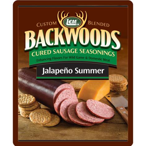Backwoods Jalapeno Summer Cured Sausage Seasoning