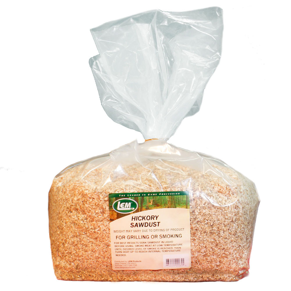 Sawdust - Hickory Sawdust - 5 lbs.