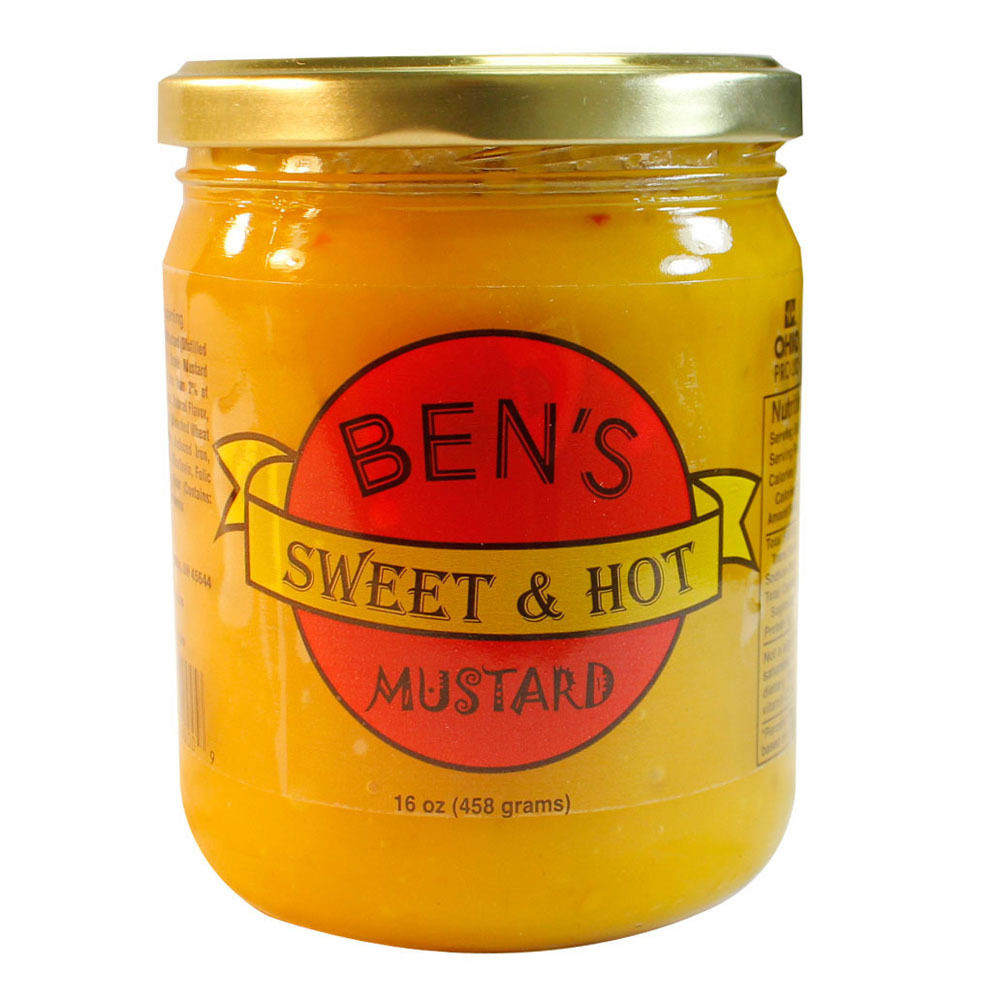 Ben's Sweet & Hot Mustard | LEM Products