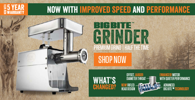 Now With Improved Speed & Performance | Shop Big Bite Meat Grinders