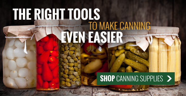 The Right Tools To Make Canning Even Easier | Shop Kitchen Supplies
