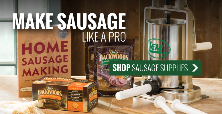 Make Sausage Like a Pro | Shop Sausage Supplies