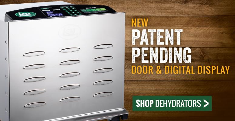 New Patent Pending Door & Digital Display | Shop Food Dehydrators