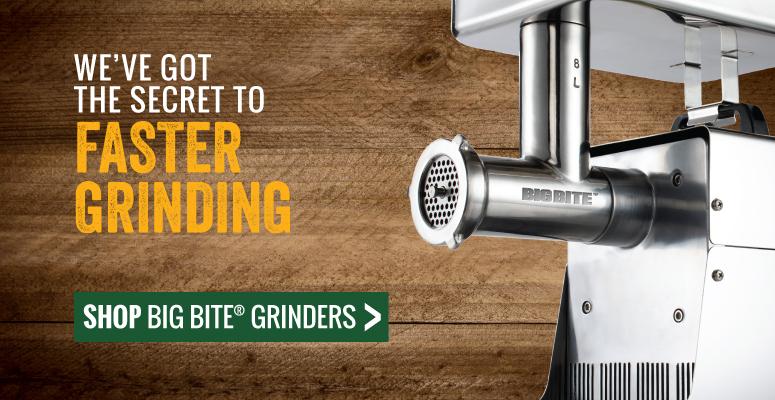 We've Got The Secret To Faster Grinding | Shop Big Bite Meat Grinders