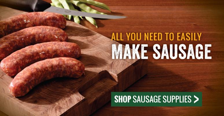 All You Need To Easily Make Sausage | Shop Sausage Supplies