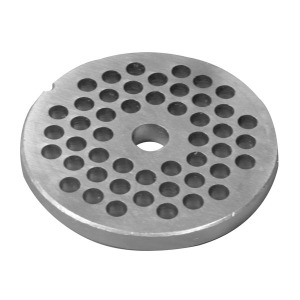 Part - Fine Grinding Plate for # 1113 & 1224 Meat Grinder
