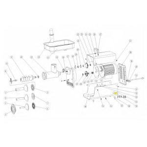 Schematic - Switch for # 5 Big Bite Grinder # 777