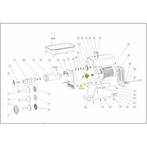 Schematic - Step Gear for 2006 # 22 Big Bite Grinder # 781