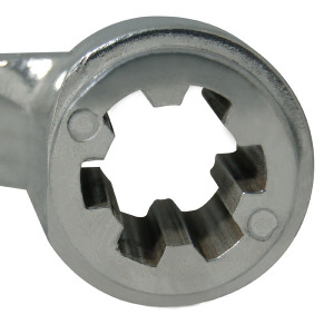 Part -  Handle for Splined Shaft for 25 lb. and 50 lb. Mixer # 733, # 733A, # 734 & # 734A