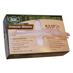 "LEM Freezer Sheets- 8""X10-3/4"""