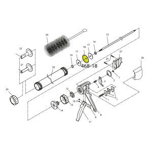 Cannon Schematic - Plastic Piston - For Jerky Cannon or Gun