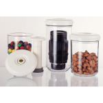 MaxVac Vacuum Sealer 3 Piece Canister Set And Hand Pump