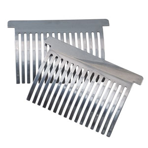 Cast Stainless Steel Tenderizer Combs