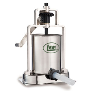 15 lb. Stainless Steel Vertical Sausage Stuffer