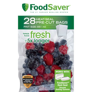 FoodSaver Pint Size Vacuum Bags