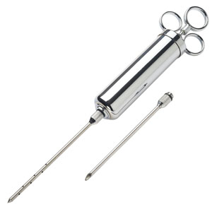 4 oz. Commercial Meat Injector With 2 Needles