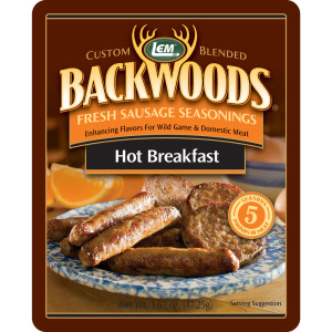 Backwoods Hot Breakfast Fresh Sausage Seasoning - Makes 5 lbs.