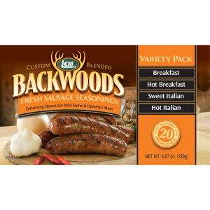 Backwoods Fresh Sausage Seasoning Variety Pack