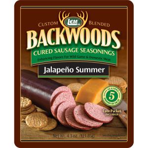 Backwoods Jalapeno Summer Cured Sausage Seasoning - Makes 5 lbs.