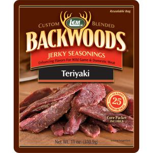 Backwoods Teriyaki Jerky Seasoning - Makes 25 lbs.