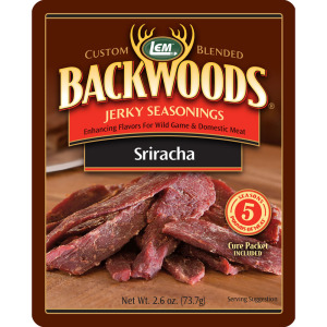 Backwoods Sriracha Jerky Seasoning Makes 5 lbs.