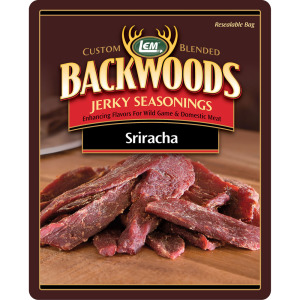 Backwoods Sriracha Jerky Seasoning Makes 25 lbs.