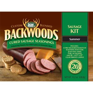 Backwoods Summer Sausage Kit - Makes 20 lbs.