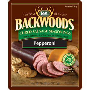 Backwoods Pepperoni Cured Sausage Seasoning - Makes 5 lbs.