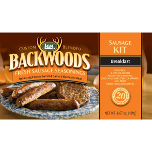 Backwoods Breakfast Fresh Sausage Kit