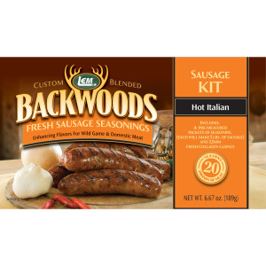 Backwoods Hot Italian Fresh Sausage Kit