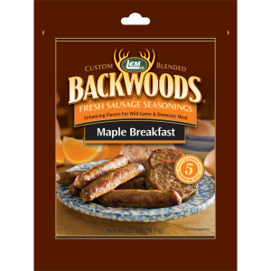 Backwoods Maple Breakfast Fresh Sausage Seasoning - Makes 25 lbs.