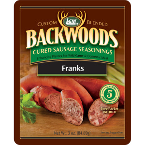 Backwoods Franks Cured Sausage Seasoning - Makes 5 lbs.