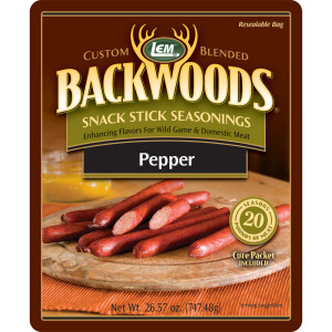 Backwoods Pepper Snack Stick Seasoning - Makes 25 lbs.