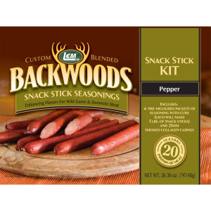 Backwoods Pepper Snack Stick Kit