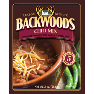 Backwoods Chili Mix - Seasons 5 lbs. of Meat