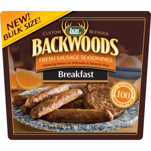Backwoods Breakfast Fresh Sausage Seasoning - Makes 100 lbs.