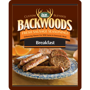 Backwoods Breakfast Fresh Sausage Seasoning - Backwoods Breakfast Seasoning Makes 5 lbs.