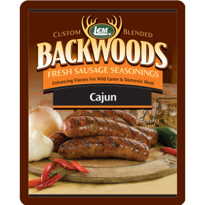 Backwoods Cajun Fresh Sausage Seasoning - Backwoods Cajun Seasoning Makes 5 lbs.