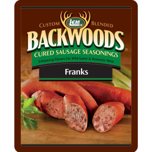 Backwoods Franks Cured Sausage Seasoning - Backwoods Franks Seasoning Makes 25 lbs.