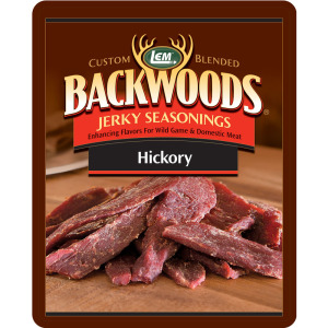Backwoods Hickory Jerky Seasoning - Backwoods Hickory Makes 25 lbs.