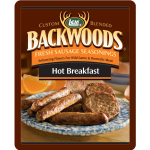 Backwoods Hot Breakfast Fresh Sausage Seasoning - Backwoods Hot Breakfast Seasoning Makes 5 lbs.