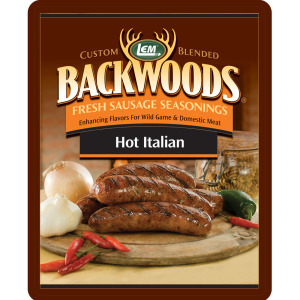 Backwoods Hot Italian Fresh Sausage Seasoning - Hot Italian Seasoning Makes 25 lbs.